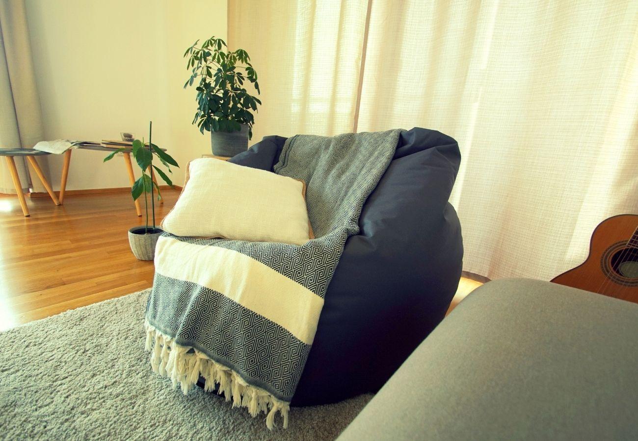 bean bag chair pillow